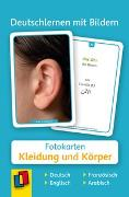 Cover-Bild zu Redaktionsteam Verlag an der Ruhr: Deutschlernen mit Bildern: Kleidung und Körper