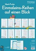 Cover-Bild zu Redaktionsteam Verlag an der Ruhr: Merkposter: Einmaleins-Reihen auf einen Blick