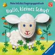 Cover-Bild zu Penners, Bernd: Mein liebstes Fingerpuppenbuch: Hallo, kleines Schaf!