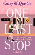 Cover-Bild zu McQuiston, Casey: One Last Stop