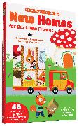 Cover-Bild zu Fordacq, Marie: New Homes for Our Little Friends: 45 Mix-And-Match Magnets of Characters, Furniture, and Decorations