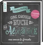 Cover-Bild zu Frau Annika: Handlettering. Das große Buch der Alphabete
