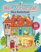 Cover-Bild zu Faust, Christine (Illustr.): Mein Stickerspaß: Haus Kunterbunt