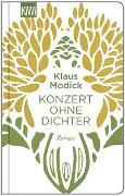Cover-Bild zu Modick, Klaus: Konzert ohne Dichter