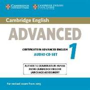 Cover-Bild zu Cambridge English Advanced 1. Audio CD Set