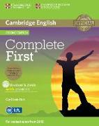 Cover-Bild zu Cambridge English. Second Edition. Complete First. Student's Book with answers von Brook-Hart, Guy