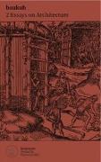 Cover-Bild zu Graziani, Stefano (Fotogr.): Two Essays on Architecture