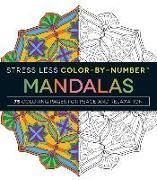 Cover-Bild zu Adams Media: Stress Less Color-By-Number Mandalas