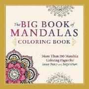 Cover-Bild zu Adams Media: The Big Book of Mandalas Coloring Book