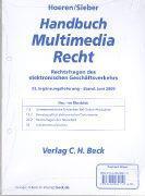 Cover-Bild zu Fortsetzungwerk - Handbuch Multimedia-Recht