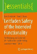 Cover-Bild zu Leitfaden Safety of the Intended Functionality (eBook) von Schnieder, Lars