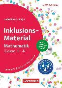 Cover-Bild zu Baumann, Johanna: Inklusions-Material Grundschule, Klasse 1-4, Mathematik, Buch mit CD-ROM