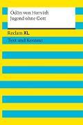 Cover-Bild zu Jugend ohne Gott. Textausgabe mit Kommentar und Materialien von von Horvath, Ödön