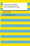 Cover-Bild zu Der zerbrochne Krug. Textausgabe mit Kommentar und Materialien von Kleist, Heinrich von