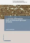 Cover-Bild zu La poésie astrologique dans la littérature grecque et latine