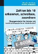 Cover-Bild zu Zahlen bis 10 erkennen, schreiben, zuordnen (eBook) von Konkow, Monika