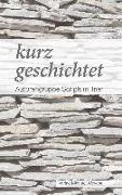 Cover-Bild zu kurz geschichtet (eBook) von Weber, Ursula Ruth
