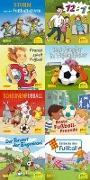Cover-Bild zu Pixi-Box 267: Pixi spielt Fußball (8x8 Exemplare) von Birck, Jan