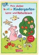 Cover-Bild zu Mein bunter Lern- und Rätselblock: Kindergarten von Leintz, Laura