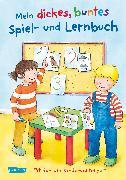 Cover-Bild zu Mein dickes buntes Spiel- und Lernbuch: Fit für die Kindergartenzeit von Leintz, Laura
