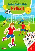 Cover-Bild zu Meine Sticker-Welt: Fußball: über 400 Sticker von Leintz, Laura