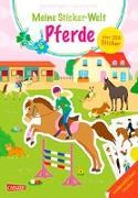 Cover-Bild zu Meine Sticker-Welt: Pferde: über 350 Sticker von Leintz, Laura
