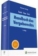 Cover-Bild zu Goede, Matthias (Hrsg.): Handbuch des Vergaberechts