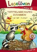 Cover-Bild zu Leselöwen 1. Klasse - Tierfreunde halten zusammen!