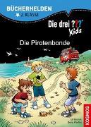 Cover-Bild zu Die drei ??? Kids, Bücherhelden 2. Klasse, Die Piratenbande