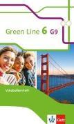 Cover-Bild zu Green Line 6 G9. Vokabellernheft Klasse 10