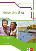 Cover-Bild zu Green Line 3 G9. Workbook mit 2 Audio-CDs Klasse 7
