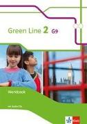 Cover-Bild zu Green Line 2 G9. Workbook mit Audio-CD Klasse 6