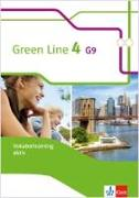Cover-Bild zu Green Line 4 G9. Vokabeltraining aktiv Arbeitsheft 8. Klasse. Ausgabe ab 2015