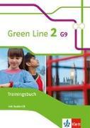Cover-Bild zu Green Line 2 G9. Trainingsbuch mit Audio CD. Neue Ausgabe