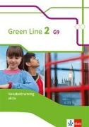 Cover-Bild zu Green Line 2 G9. Vokabeltraining aktiv, Arbeitsheft. Neue Ausgabe