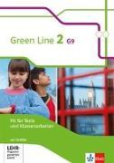 Cover-Bild zu Green Line 2 G9. Fit für Tests und Klassenarbeiten mit Lösungsheft und CD-ROM. Neue Ausgabe