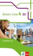 Cover-Bild zu Green Line 4 G9. Vokabellernheft 8. Klasse. Ausgabe ab 2015