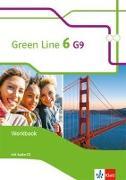 Cover-Bild zu Green Line 6 G9. Workbook mit Audio CD Klasse 10