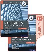 Cover-Bild zu Oxford IB Diploma Programme: IB Mathematics: analysis and approaches, Higher Level, Print and Enhanced Online Course Book Pack von Torres Skoumal, Marlene