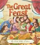 Cover-Bild zu My First Bible Stories (Stories Jesus Told): The Great Feast von Box, Su