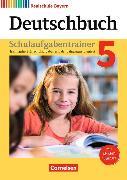 Cover-Bild zu Deutschbuch - Realschule 5. Schuljahr. Neubearbeitung. Schulaufgabentrainer mit Lösungen von Bildl, Gertraud