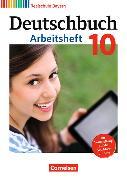Cover-Bild zu Deutschbuch - Realschule 10. Schuljahr. Arbeitsheft mit Lösungen. BY von Aigner-Haberstroh, Elke