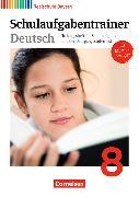 Cover-Bild zu Deutschbuch - Realschule 8. Schuljahr. Schulaufgabentrainer. BY von Bildl, Gertraud