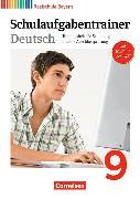 Cover-Bild zu Deutschbuch 9. Schuljahr. Schulaufgabentrainer mit Lösungen. BY von Bildl, Gertraud