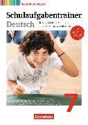 Cover-Bild zu Deutschbuch - Realschule 7. Schuljahr. Schulaufgabentrainer. BY von Bildl, Gertraud