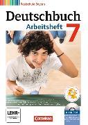 Cover-Bild zu Deutschbuch - Realschule 7. Schuljahr. Arbeitsheft mit CD-ROM. BY von Aigner-Haberstroh, Elke