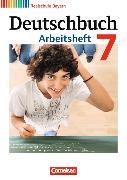 Cover-Bild zu Deutschbuch - Realschule 7. Schuljahr. Arbeitsheft mit Lösungen. BY von Aigner-Haberstroh, Elke