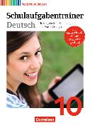 Cover-Bild zu Deutschbuch - Realschule 10. Schuljahr. Schulaufgabentrainer mit Lösungen. BY von Bildl, Gertraud