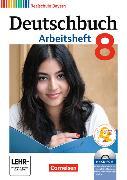 Cover-Bild zu Deutschbuch - Realschule 8. Schuljahr. Arbeitsheft mit Lösungen / CD-ROM. BY von Aigner-Haberstroh, Elke