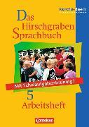 Cover-Bild zu Das Hirschgraben Sprachbuch Arbeitsheft (vierfarbig) von Bildl, Gertraud